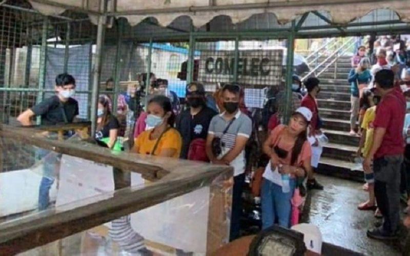 BACOLOD. Comelec Bacolod is still accepting voter registration until October 30, 2021. (File photo)
