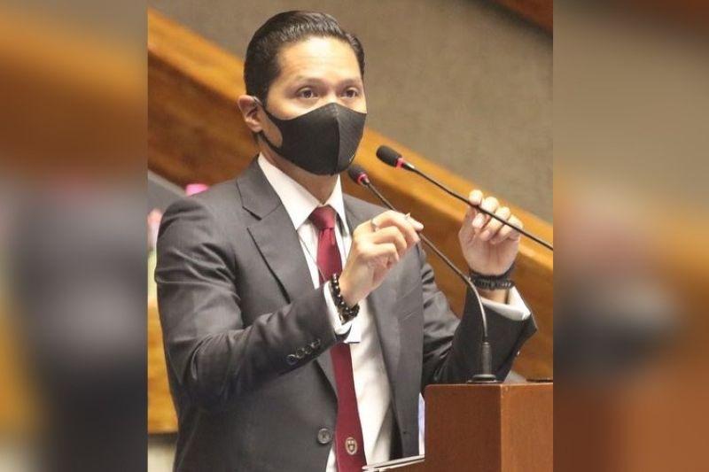 """Cebu Fifth District Rep. Vincent Franco """"Duke"""" Frasco (From: Rep. Frasco's Facebook)"""