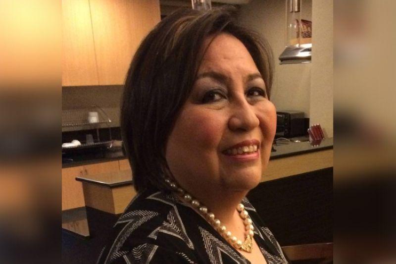 Zonta Club of Cebu 1 president Gina Garcia-Atienza (From: Facebook)