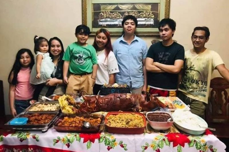NEGROS. Engineer Justine Cientos thanked his family for their support. (Contributed photo)