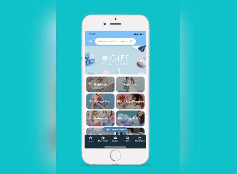 SM. Let The SM Store Gift Registry App be your ultimate destination for all your celebrations and gift-giving needs! (Contributed photo)