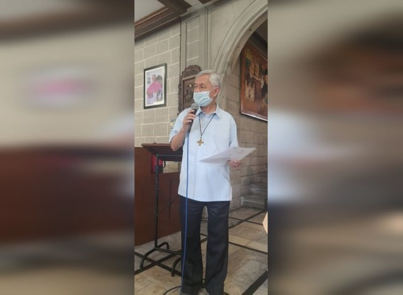 BACOLOD. Bishop Patricio Buzon said he is hoping that people will make the right choice in the upcoming election. (Adrian P. Nemes III photo)