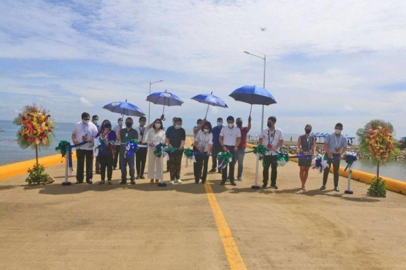 New port inaugurated in Liloan, Cebu (Photo by Alan Tangcawan)