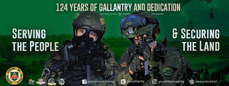 Philippine Army to hire 1K new officers before year ends (Photo from Philippine Army's Facebook)