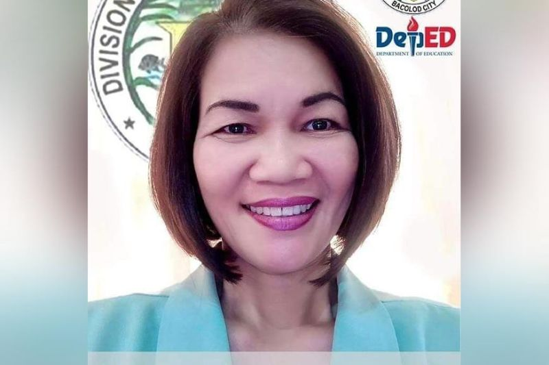 BACOLOD. Dr. Portia Mallorca will be the superintendent of the newly created Victorias City Schools Division. (File Photo)
