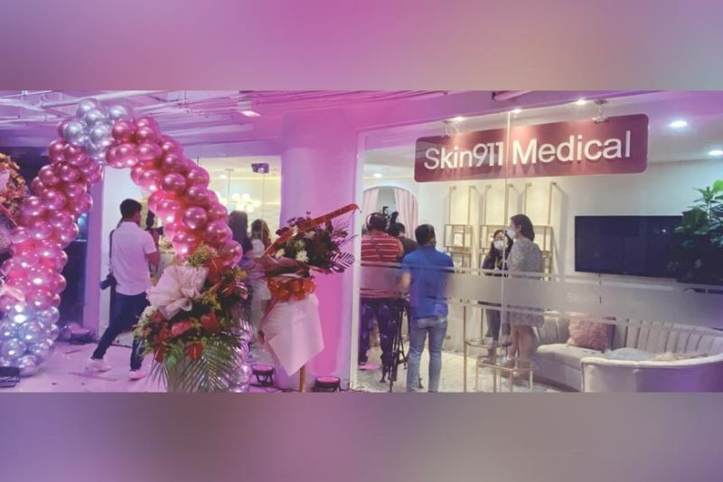 OPTIMISM. Skin911 Medical aims to become a game-changer in the beauty industry. This flagship facility in Ayala Center Cebu is a seven-bed beauty and wellness facility that is equipped with advanced and state-of-the-art machines. / KATLENE O. CACHO-LAUREJAS